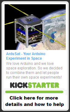 Ardusat on Kickstarter